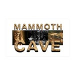ABH Mammoth Cave 38.5 x 24.5 Wall Peel