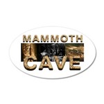 ABH Mammoth Cave 38.5 x 24.5 Oval Wall Peel