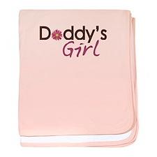 Daddy's Girl baby blanket