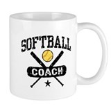 Softball Coach Small Mugs