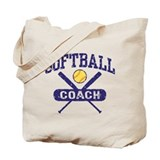 Softball Coach Tote Bag