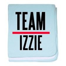 Team Izzie Grey's Anatomy baby blanket