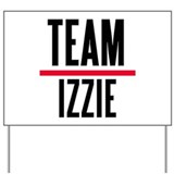 Team Izzie Grey's Anatomy Yard Sign