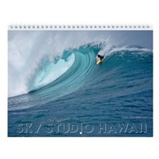 Hawaii Body Boarders Wall Calendar