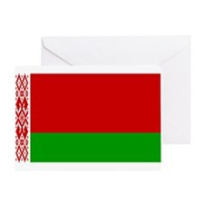 Belarus Flag Greeting Card
