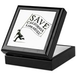 Save California Libraries Keepsake Collections Box