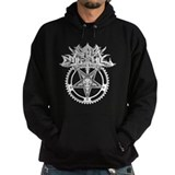 Black Metal Cycling Hoody