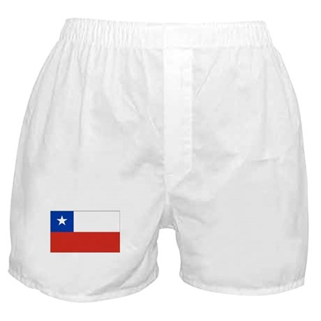 Chilean Flag Boxer Shorts