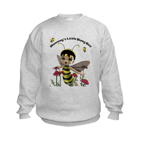 Mommy's Little Busy Bee Kids Sweatshirt
