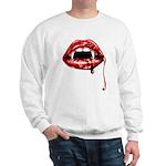 Vampire Fangs Sweatshirt