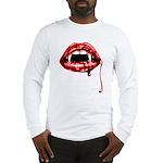 Vampire Fangs Long Sleeve T-Shirt