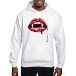 Vampire Fangs Hooded Sweatshirt