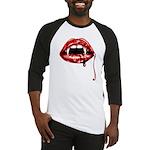 Vampire Fangs Baseball Jersey