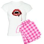 Vampire Fangs Women's Light Pajamas