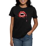 Vampire Fangs Women's Dark T-Shirt