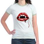 Vampire Fangs Jr. Ringer T-Shirt