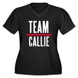 Team Callie Grey's Anatomy Women's Plus Size V-Nec