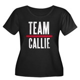 Team Callie Grey's Anatomy Women's Plus Size Scoop