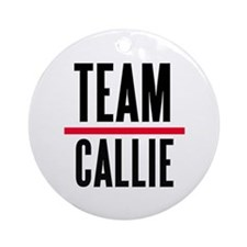 Team Callie Grey's Anatomy Ornament (Round)