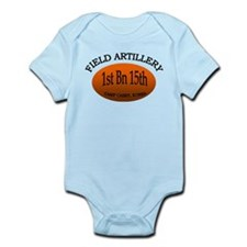 1st Bn 15th Field Artillery Infant Bodysuit