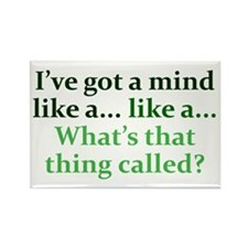 Mind like a... Rectangle Magnet (10 pack)