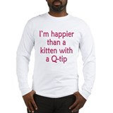 Happy Kittens Long Sleeve T-Shirt
