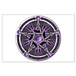 Pentacle of the Purple Moon Large Poster