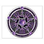 Pentacle of the Purple Moon Small Poster
