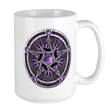 Pentacle of the Purple Moon Mug