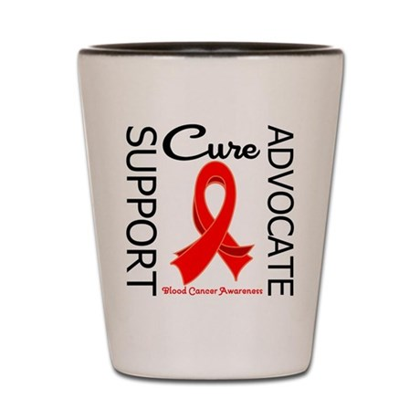 Blood Cancer Advocate Shot Glass
