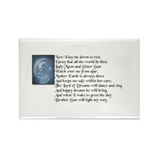 Night time Pagan Prayer Magnet