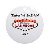 Father/Bride Ornament (Round)