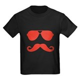 glasses and mustache T