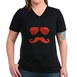 glasses and mustache Shirt