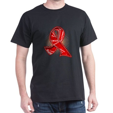 Blood Cancer Slogans Dark T-Shirt