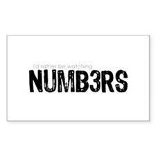 NUMB3RS Decal
