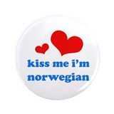 "Cute I love norwegian boys 3.5"" Button"