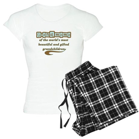 Grandmama of Gifted Grandchil Women's Light Pajama