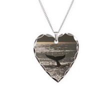 Heart Necklace-Whale (Humpback)