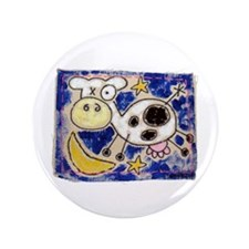 "Cow 3.5"" Button (100 pack)"