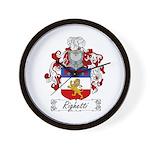 Ridolfi Coat of Arms Wall Clock
