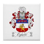 Ridolfi Coat of Arms Tile Coaster