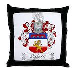 Ridolfi Coat of Arms Throw Pillow