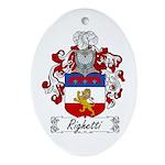 Ridolfi Coat of Arms Oval Ornament
