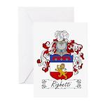 Ridolfi Coat of Arms Greeting Cards (Pk of 10)