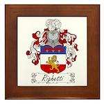 Ridolfi Coat of Arms Framed Tile