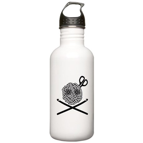 Pirate Crochet Stainless Water Bottle 1.0L