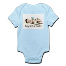 Nostalgic Baby's First Easter Infant Bodysuit