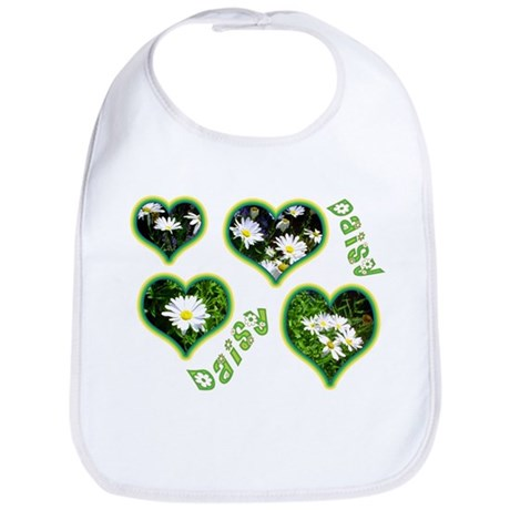 Cheerful Daisies Bib