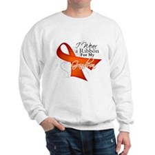 Grandson Leukemia Ribbon Sweatshirt